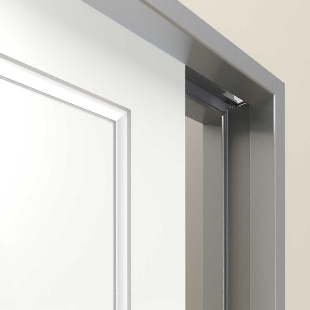 Motorized pocket door by CavitySliders